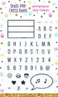 Lightbox Love Clear Rubber Stamp Set