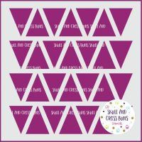 Triangles Pattern Large Stencil