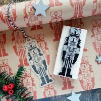 ***NEW FOR 2018*** Christmas Nutcracker Rubber Stamp
