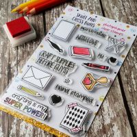 ****NEW FOR 2019**** Crafting is My Super Power Rubber Stamp Set