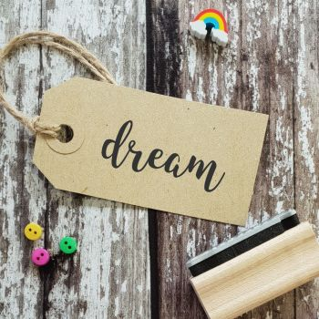 Dream Rubber Stamp