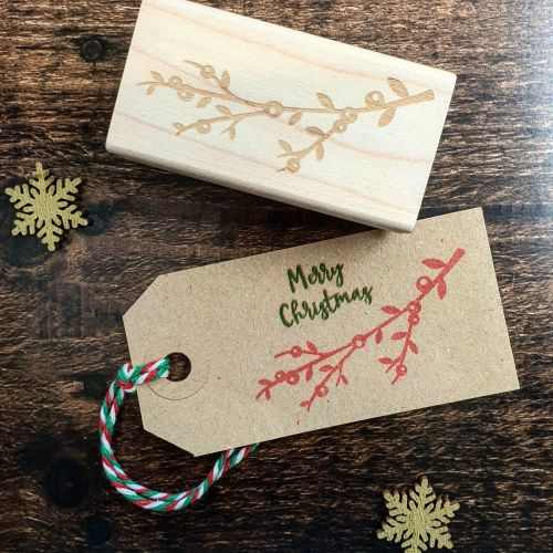 *****NEW FOR XMAS 2019 - Christmas Spring Rubber Stamp PRE-ORDER PRICE 20%