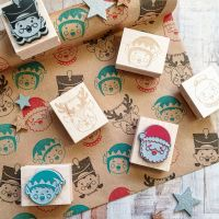 ***NEW FOR 2020*** Christmas Characters Rubber Stamps (By Charlie's Hand collaboration)