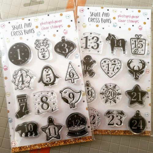 Advent Calendar Clear Rubber Stamps