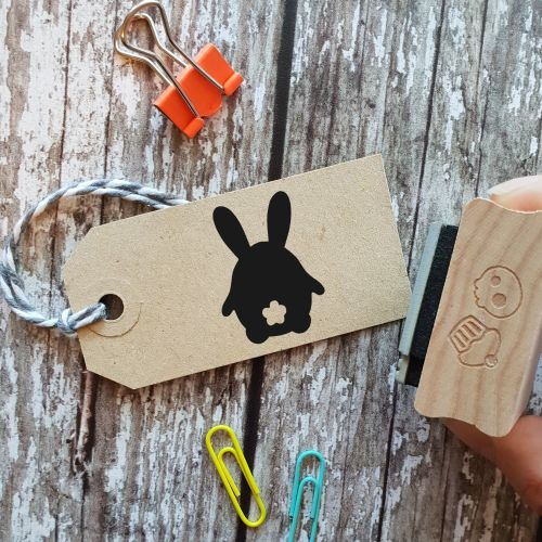 ****NEW FOR 2021**** Easter Bunny Bum Rubber Stamp