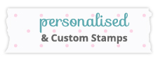 personalised custom stamps