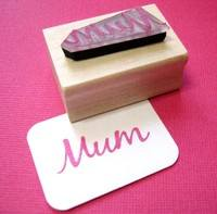 Mum Rubber Stamp