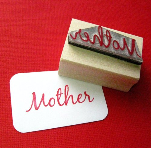 Mother Rubber Stamp
