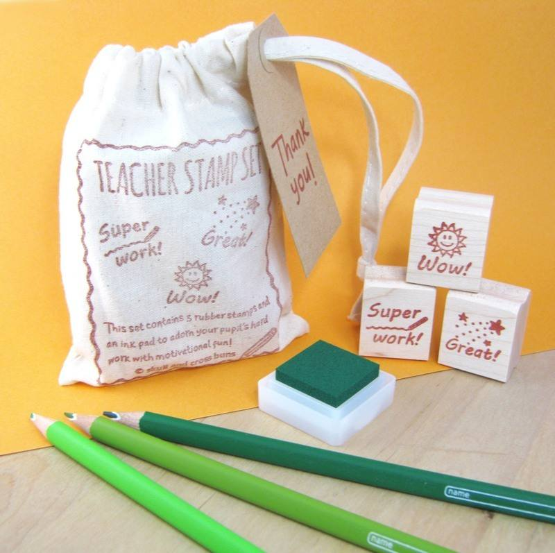 teacher stamp set