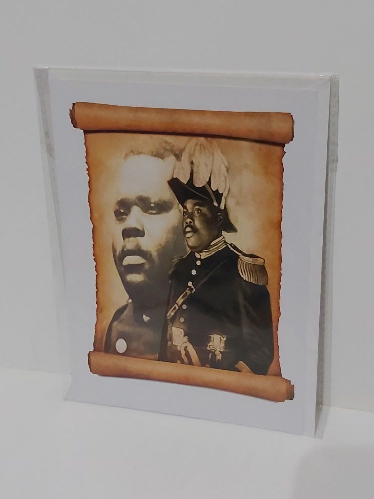Marcus Garvey Scroll