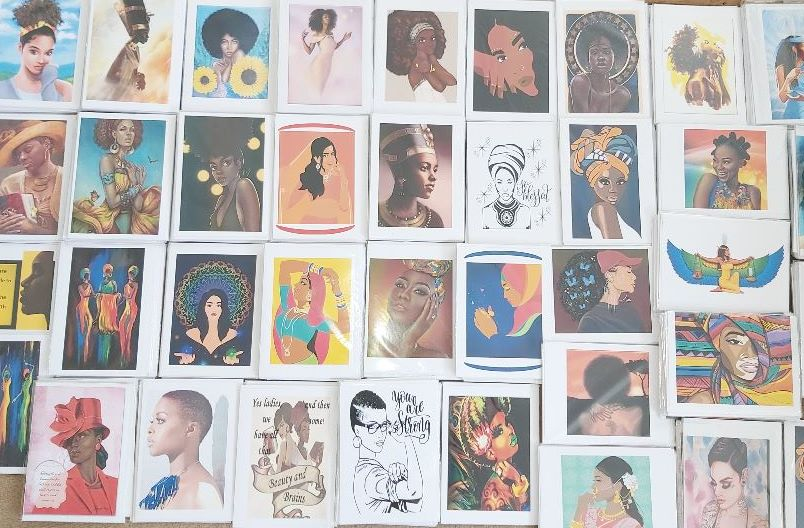 Cards with Female Images