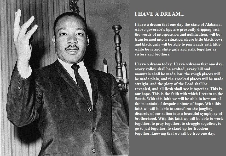 Martin Luther King Jnr 1