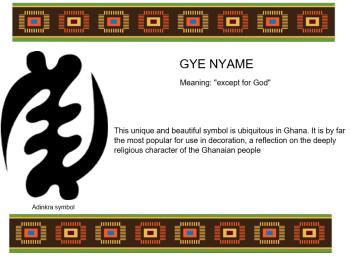 Adinkra Symbol - GYE NYAME