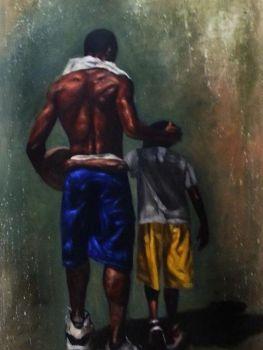 Black Male & Child 2