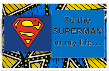 For my Superman
