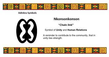 Adinkra Symbol - Nkonsonkonson