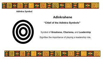 Adinkra Symbol - Adinkrahene
