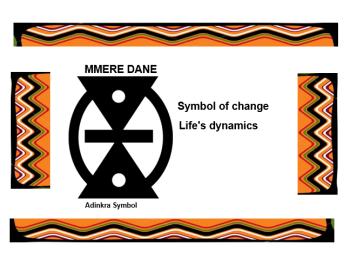 Adinkra Symbol - Mmere Dane