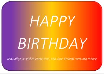 General Birthday 3