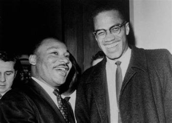 Martin Luther King Jnr  & Malcolm X