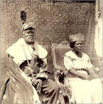 Rei do Congo D. Pedro VII e D. Isabel