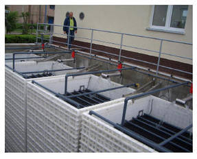 biokube commercial sewage treatment
