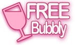 Free Bubbly with every booking!
