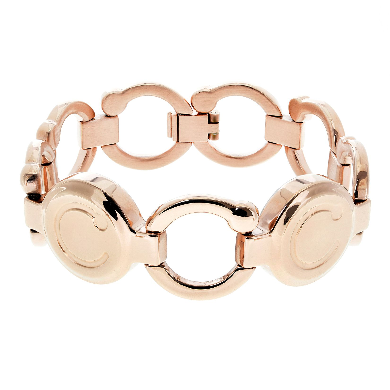Rose gold magnotherapy wristband