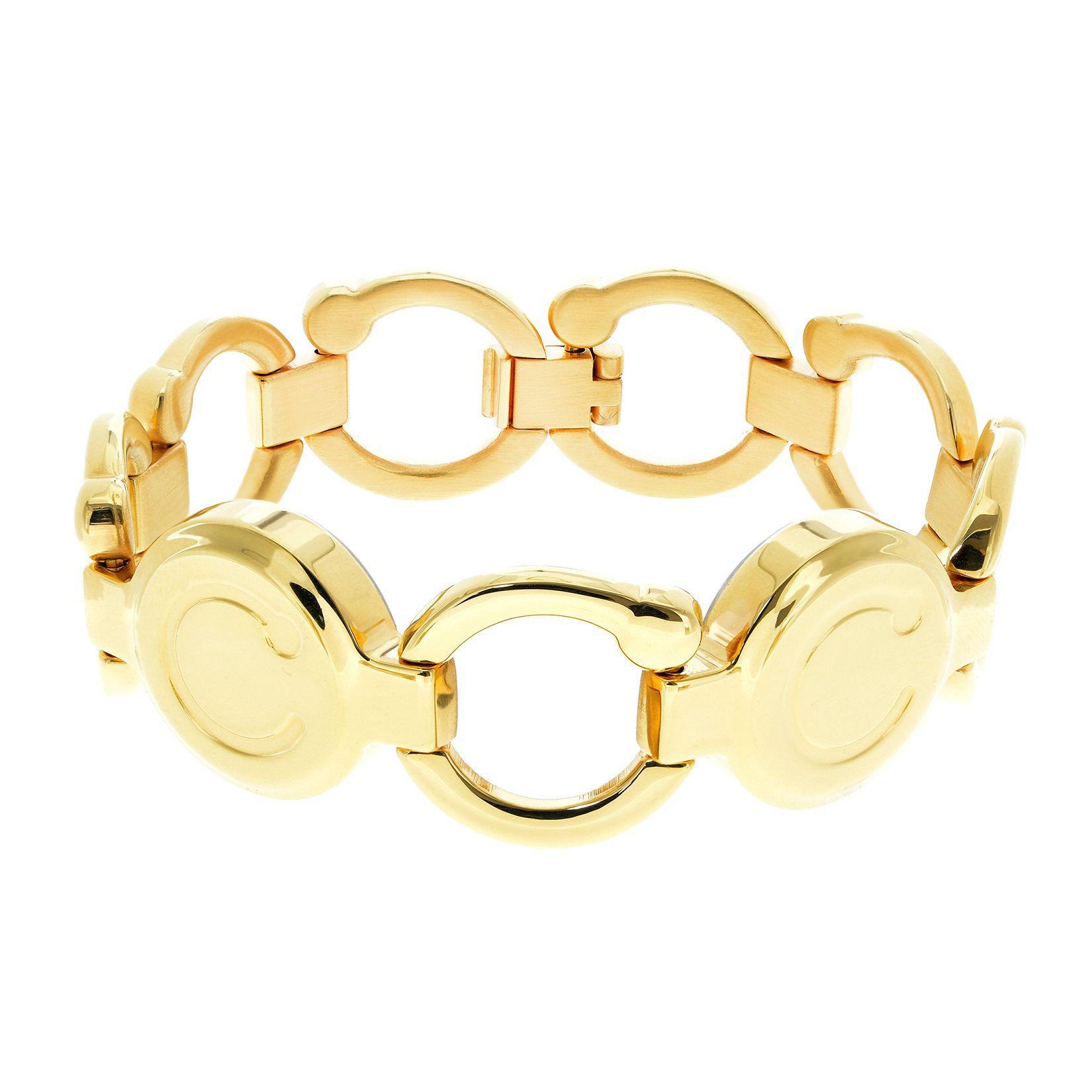 Bioflow gold pirouette wristband