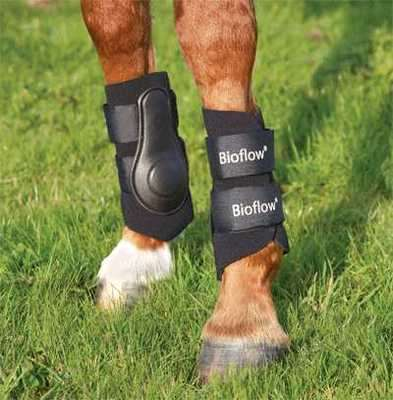 Bioflow Stomatex Horse Brushing Boots - Large