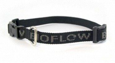 bacl dog collar