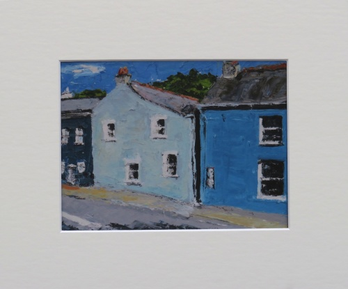 Print of painting titled, 'Solva, Wales'