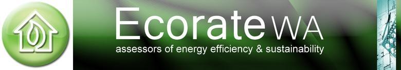 Ecorate WA, site logo.