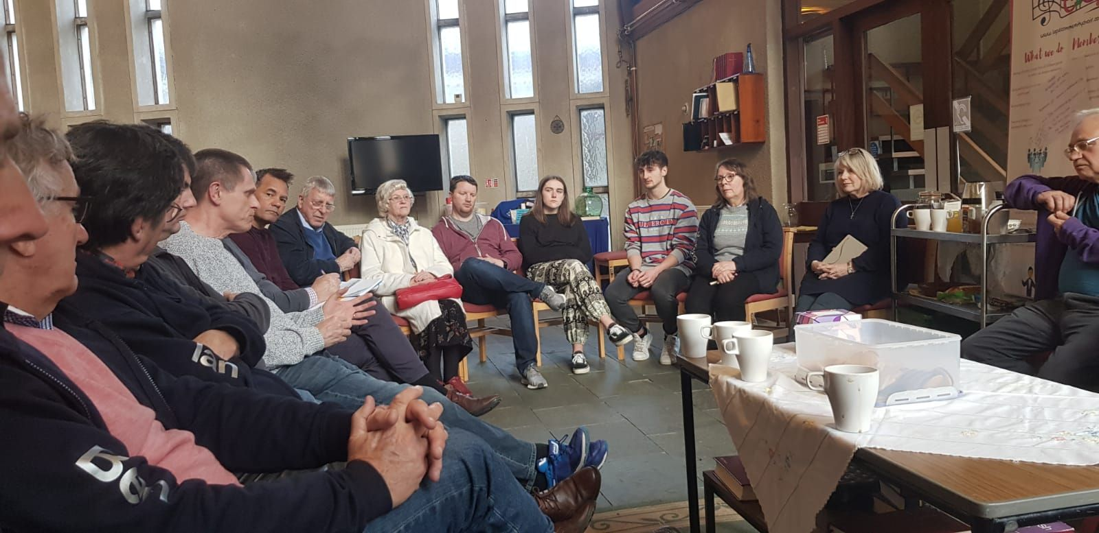Chaplaincy Meeting Pic