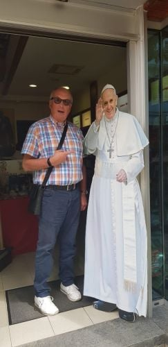 DP with the Pope