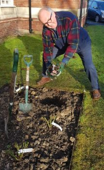 Andy Palmers memorial garden 1
