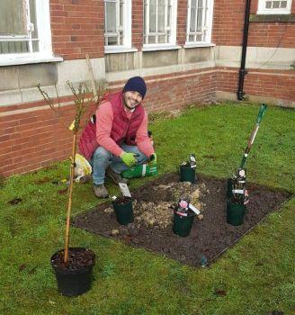 Andy Palmers memorial garden 3