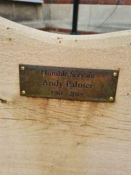 Andy Palmer Memorial Garden - June 2021 - 1