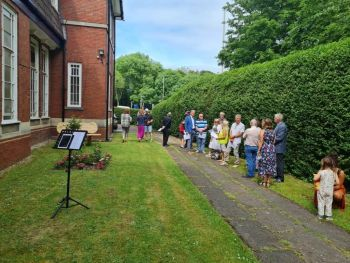 Andy Palmer Memorial Garden - June 2021 - 2