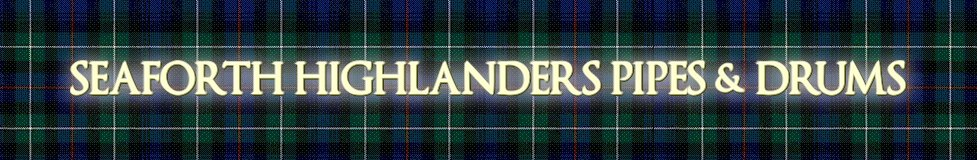 www.seaforthhighlanders.co.uk, site logo.