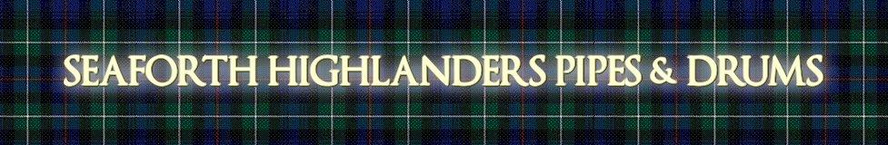 www.seaforthhighlanders.co.uk, site logo.