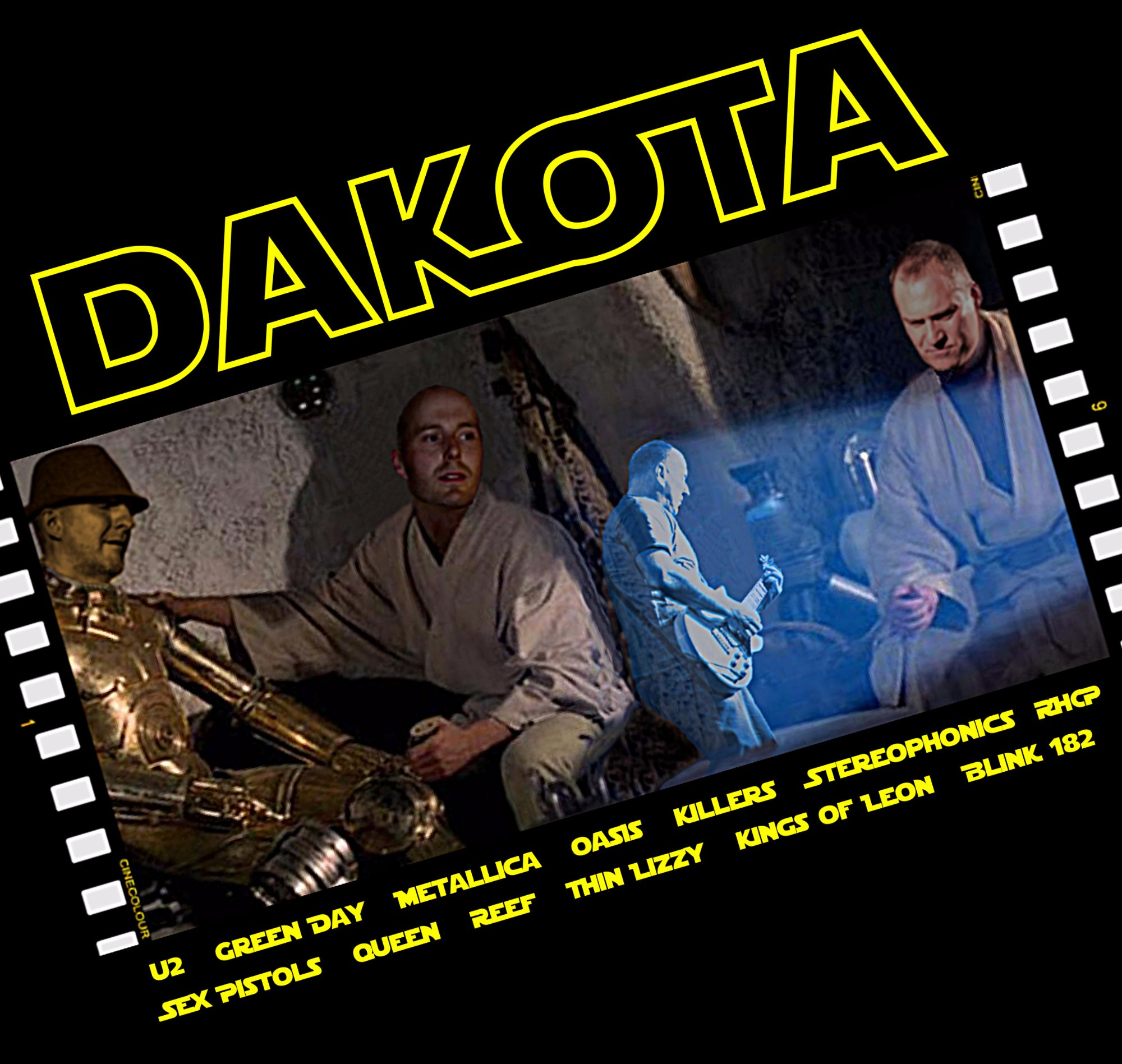 Star Wars main band image with logo