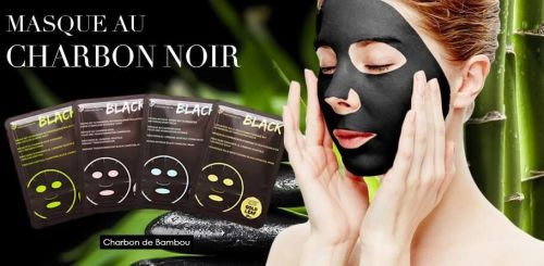 Luxurious Gold Moisturising Black Charcoal Mask