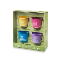 Eddingtons Childrens Egg Cups ~ TOY BOX ~ set of 4