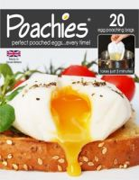Eddingtons Poachies ~ pack of 20 Egg Poaching Bags