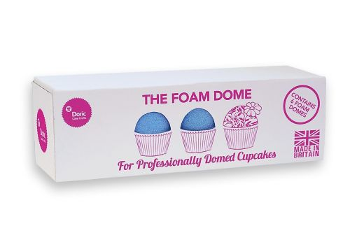 THE FOAM DOME - For Professionally Domed Cupcakes