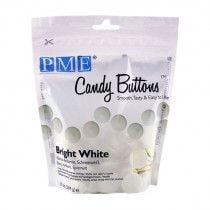 PME Candy Buttons BRIGHT WHITE 340g 12oz