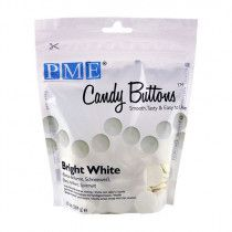PME Candy Buttons WHITE 340g 12oz