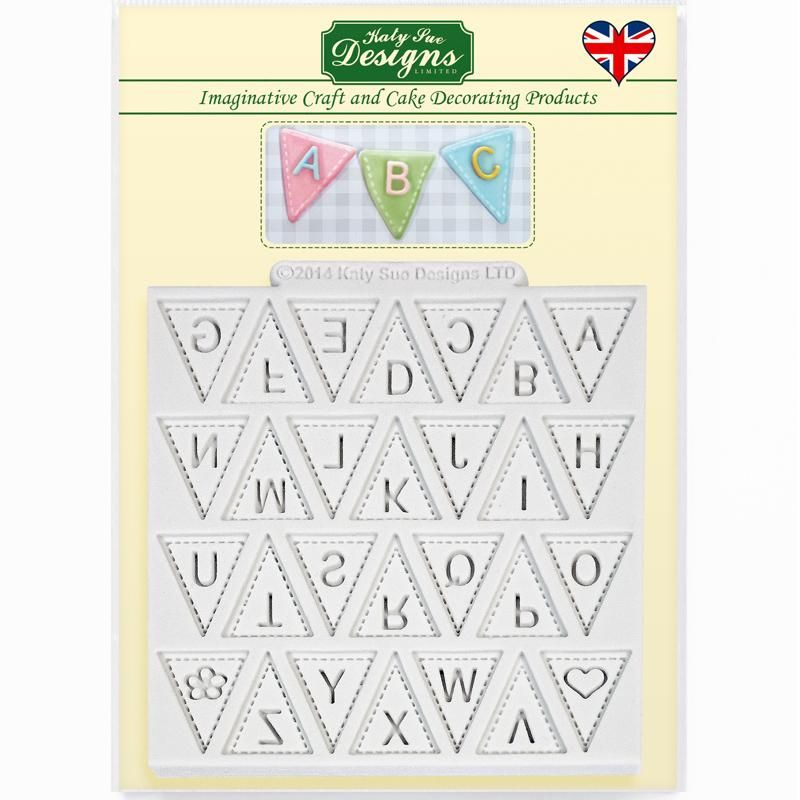 Katy Sue Designs Bunting Mould
