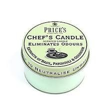 PRICE'S CHEF'S Candle ~ 100g Eliminates Cooking Odours